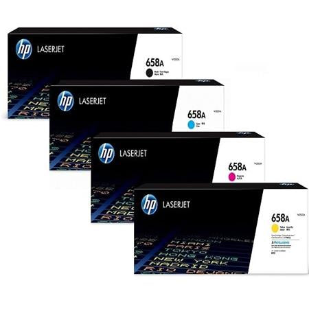 HP 658A Original LaserJet Toner Cartridges