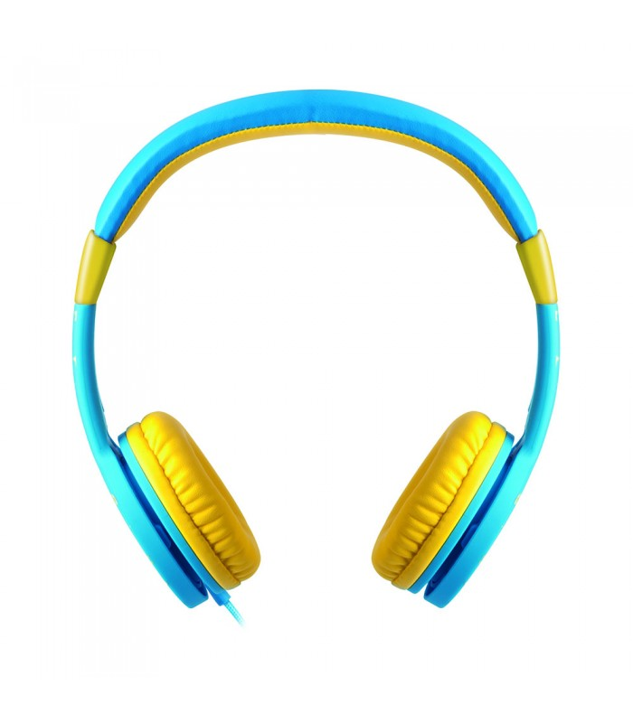 HEADPHONES ASTRUM KIDS SAFE 85 DB ROSA/AZUL