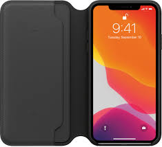 Apple iPhone XS Max Leather Folio Black (KMRX22ZM/A)