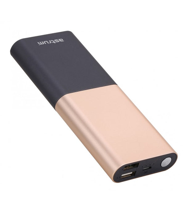 ASTRUM POWER BANK 10.000 MAh PINK ( PB120 )