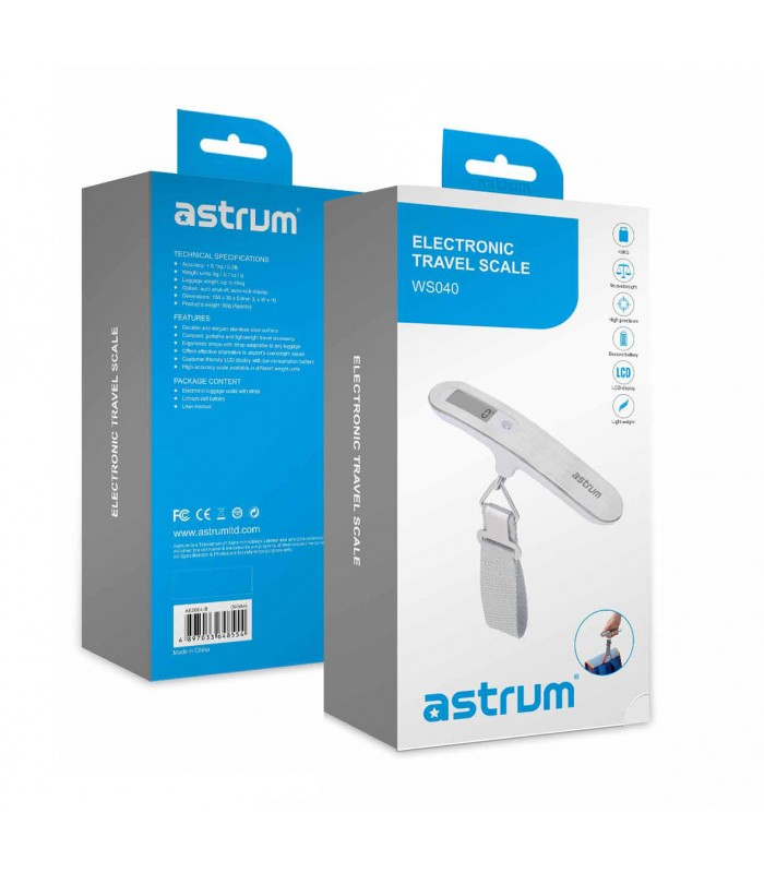ASTRUM Balanca Electronic Travel Scale ( WS040 )