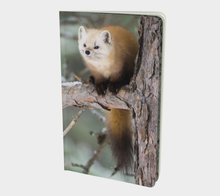 Load image into Gallery viewer, Pine marten notebook
