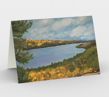 Load image into Gallery viewer, View from Booth's Rock greeting card