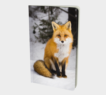 Load image into Gallery viewer, Fox notebook