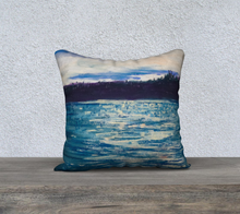 Load image into Gallery viewer, Late summer skies pillow 18x18""