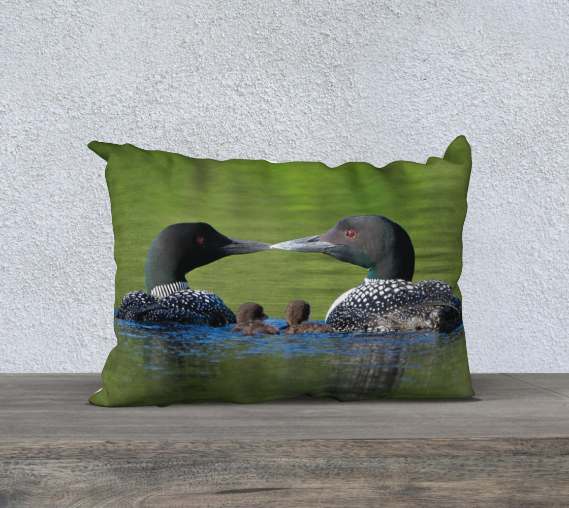 Loon Love Pillow Case