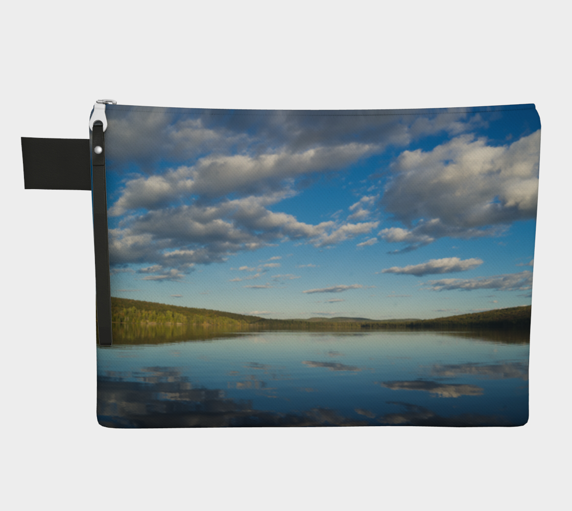 Cloud zipper pouch