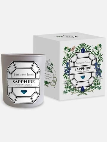 SEPTEMBER BIRTHSTONE CANDLE | SAPPHIRE