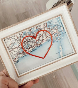 HARWICH PORT HEART MAP
