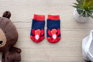 Lobster Boogie Toes Rattle Socks