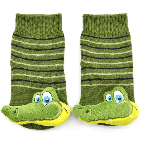 Alligator Chic Boogie Toes Rattle Socks