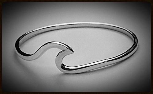Cape Wave ™ Sterling Bangle Bracelet by Cape Wave ™Jewelry