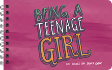 Load image into Gallery viewer, BEING A TEENAGE GIRL - INSPIRATIONAL BOOK FOR TEEN GIRLS