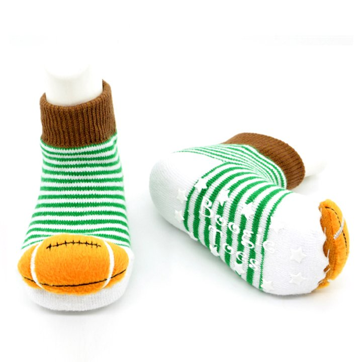 Football Boogie Toes Rattle Socks