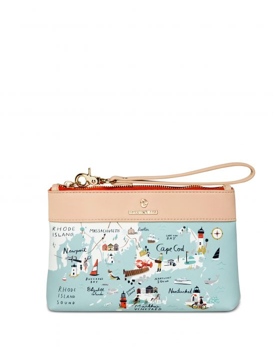 Northeastern Harbor Wristlet