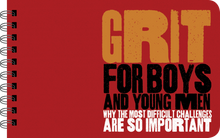 Load image into Gallery viewer, GRIT FOR BOYS - BOY POWER BOOK FOR TWEENS AND YOUNG MEN
