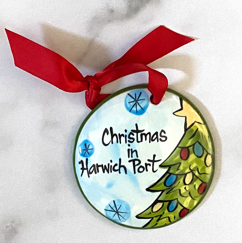Christmas in Harwichport Handpainted Ornament