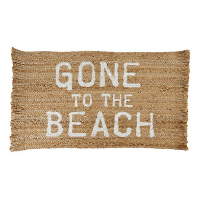 Gone To The Beach Rug