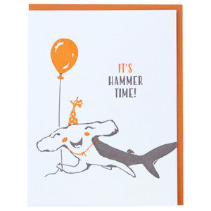 HAMMERHEAD BIRTHDAY CARD