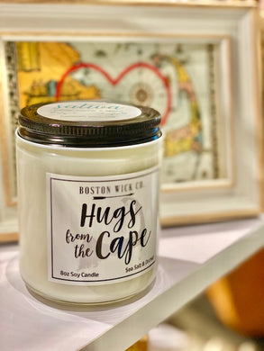 Hugs From The Cape Candle