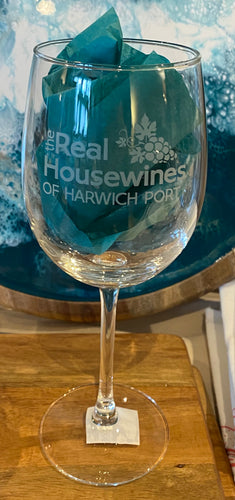 The Real Housewines of Harwich Port Wine Glass