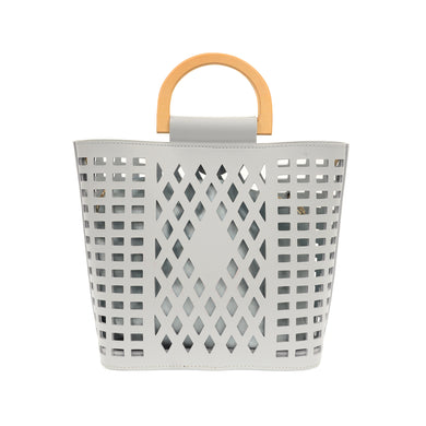 Grey Madison Cut Out Tote
