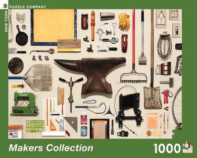 MAKERS COLLECTION PUZZLE - 1000 PIECES