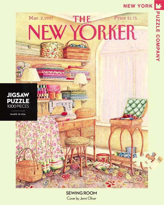 SEWING ROOM PUZZLE - 1000 PIECES