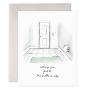 WISHING YOU PEACE MOTHER'S DAY CARD