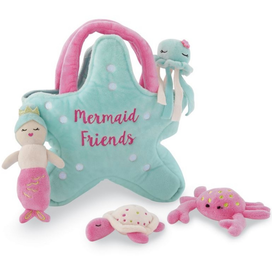 Mermaid Friends Plush Play Set