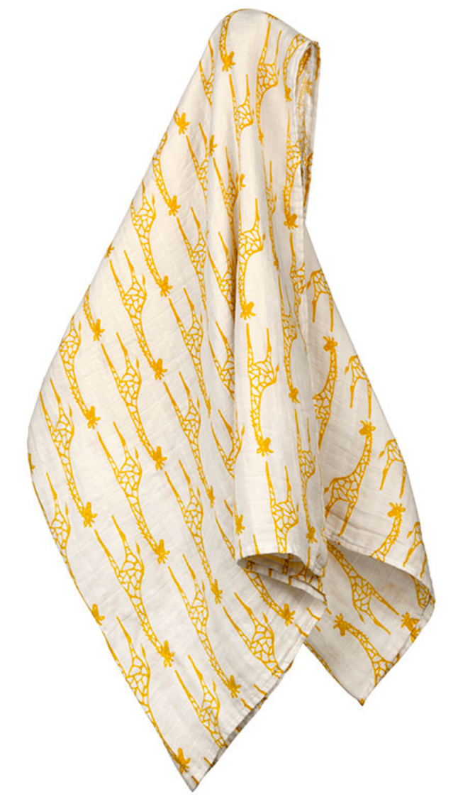 Yellow Giraffe Swaddle