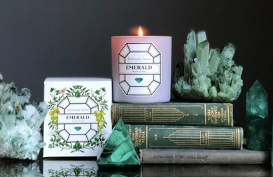 EMERALD/MAY BIRTHSTONE CANDLE