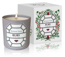 Load image into Gallery viewer, RUBY/JULY BIRTHSTONE CANDLE