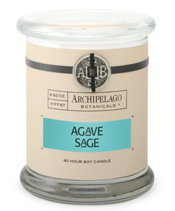 Agave Sage Glass Jar Candle