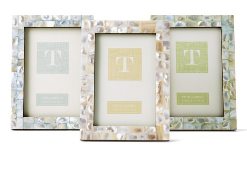 Mother of Pearl Tiles Photo Frame
