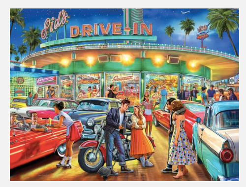 AMERICAN DRIVE-IN PUZZLE