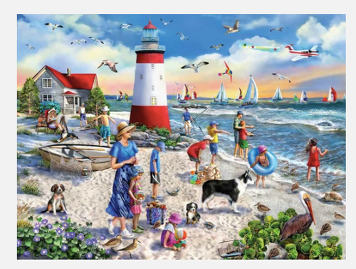LIGHTHOUSE BEACH PUZZLE