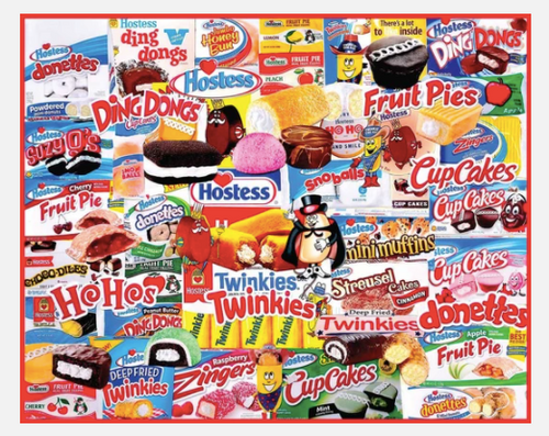 HOSTESS SNACKS PUZZLE