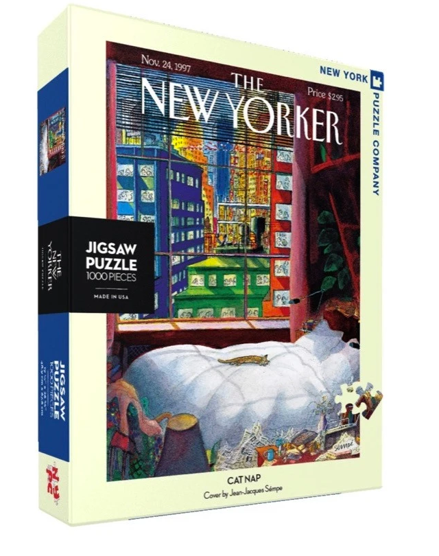 CAT NAP PUZZLE - 1000 PIECE PUZZLE