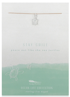 Sea Turtle - Ocean Life Necklace