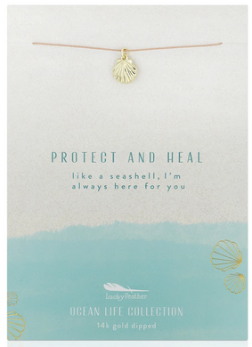Sea Shell - Ocean Life Necklace