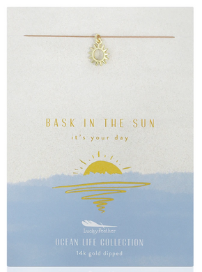 Sun - Ocean Life Necklace