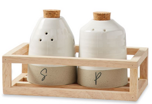Salt & Pepper Shaker Crate Set