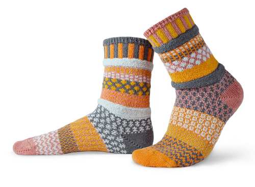 Buckwheat Crew Socks