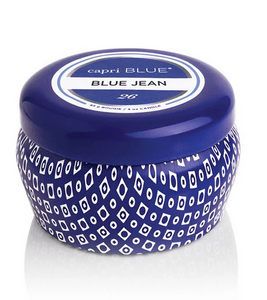 Blue Jean Mini Tin Candle