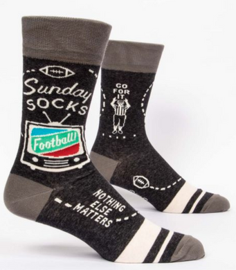 Sunday Men's Crew Socks