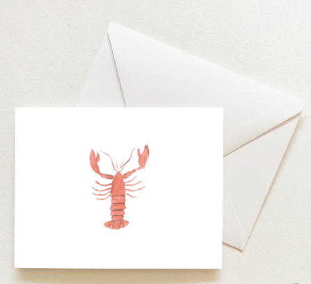 LOBSTER BOXED SET OF CARDS