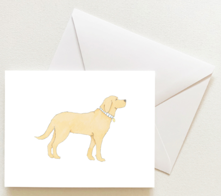 GOLDEN PUP BOXED SET OF CARDS
