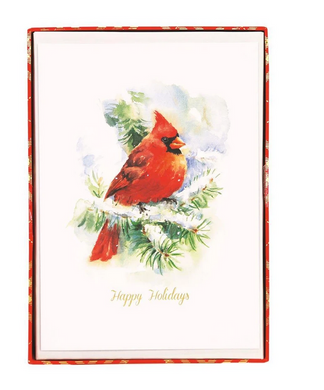 Cardinal Large Boxed Holiday Cards