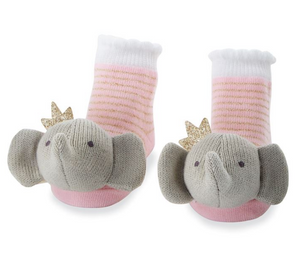 Crowned Elephant Rattle Toes
